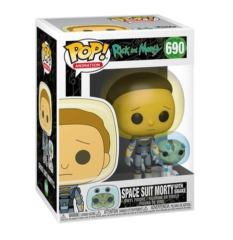Фигурка Funko POP! Vinyl: Rick & Morty: Space Suit Morty w/S 45435