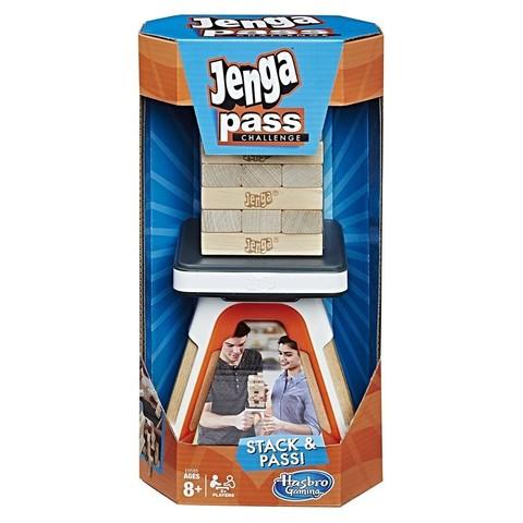 Hasbro: Настольная игра Дженга Челлендж E0585 — Jenga Pass Challenge Action Game — Хасбро Геймс Игры