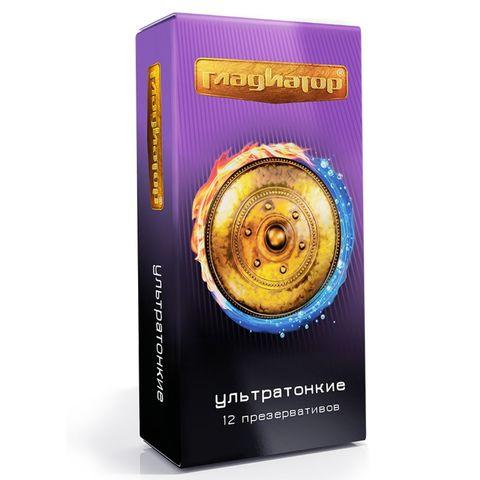 Презервативы  Гладиатор Ультратонкие  - 12 шт.