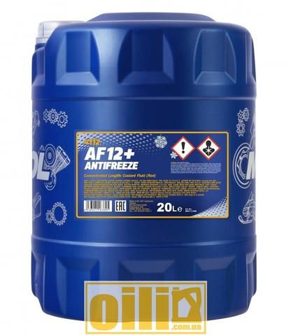 MANNOL 4112 Antifreeze AF12+ Longlife 20л