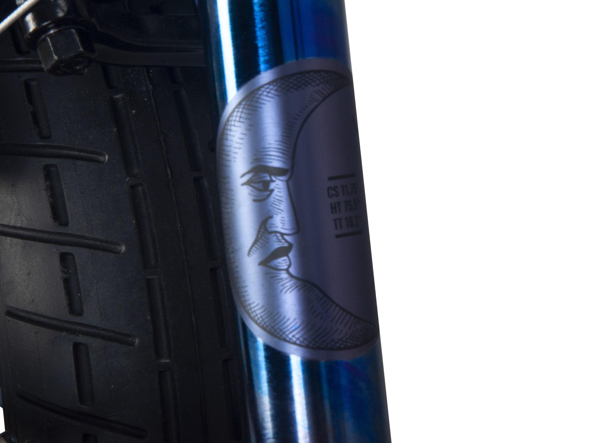 "BMX Велосипед Karma Zodiac LT 18"" (синий хром)"