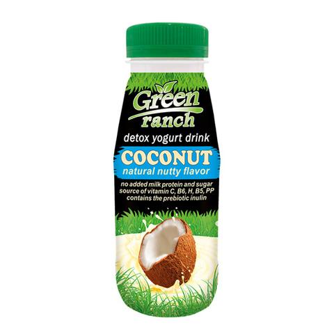 Green ranch Напиток кокосовый на йогуртной закваске, без молока 250 г