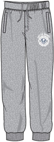 Спортивные брюки LOTTO PANTS ERICFT CUFF N6826