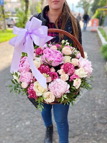 Цветы в корзинке #4883