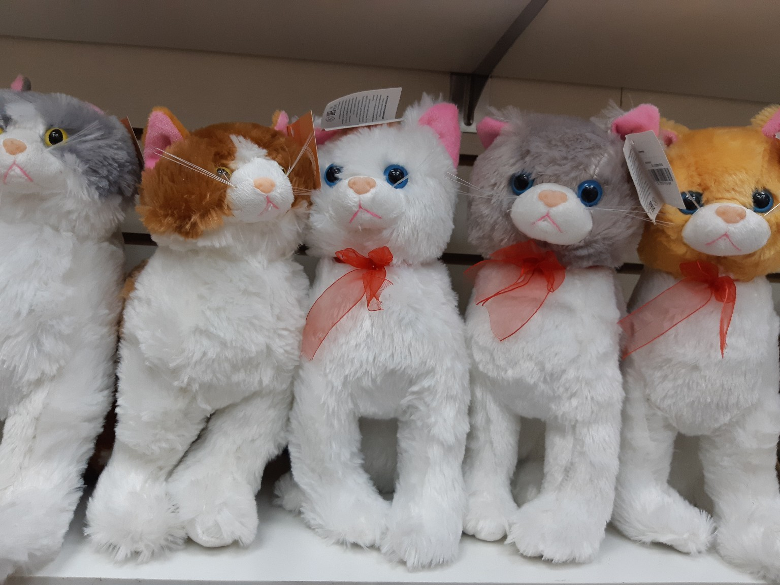 Кошечки в разных расцветках(поштучно)