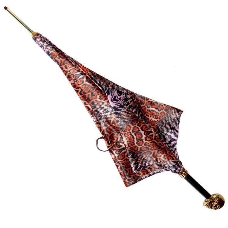 Зонт-трость Pasotti 5A384-5 Golden Skull