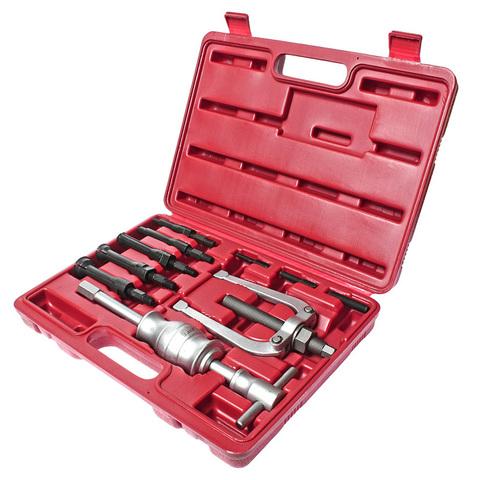 МАСТАК (100-31010C) Обратный молоток для внутренних подшипников, 8-34 мм, кейс, 10 предметов