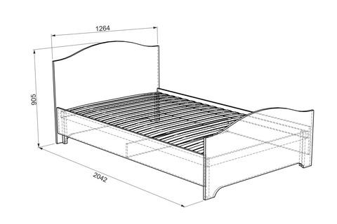 Алиса Кровать 1.2