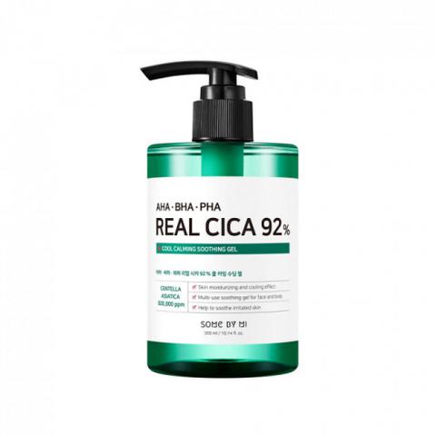Some By Mi AHA BHA PHA Real Cica 92% Cool Calming Soothing Gel Многофункциональный успокаивающий гель с кислотами