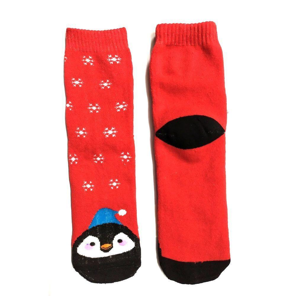 Новогодние носки теплые