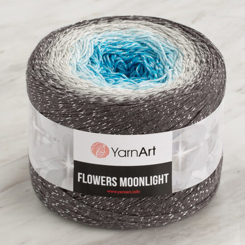 Flowers  Moonlight (Yarn Art)