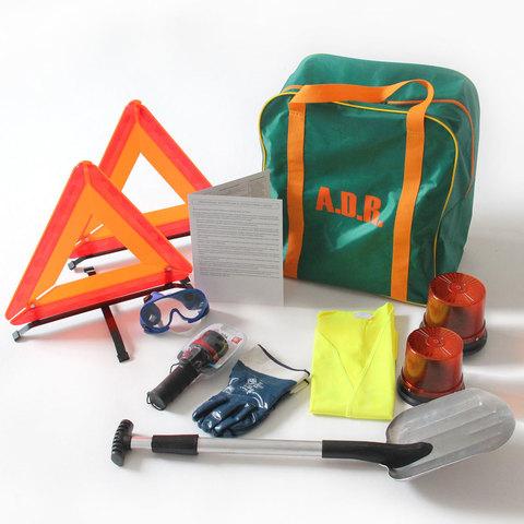 ADR комплект для опасных грузов, которым присвоены знаки опасности № 1, 1.4, 1.5, 1.6, 2.1, 2.2 (по ДОПОГ и ТР ТС 018/2011)