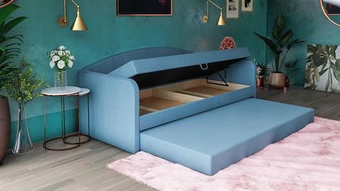 Односпальная Кровать-софа «Диор» с ящиком для белья