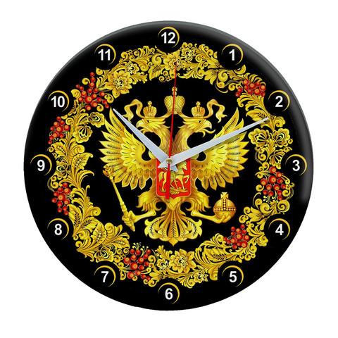 Настенные часы с символикой