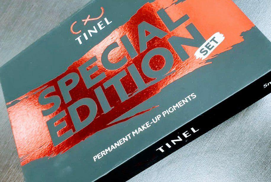 Cет пигментов для бровей от компании Tinel