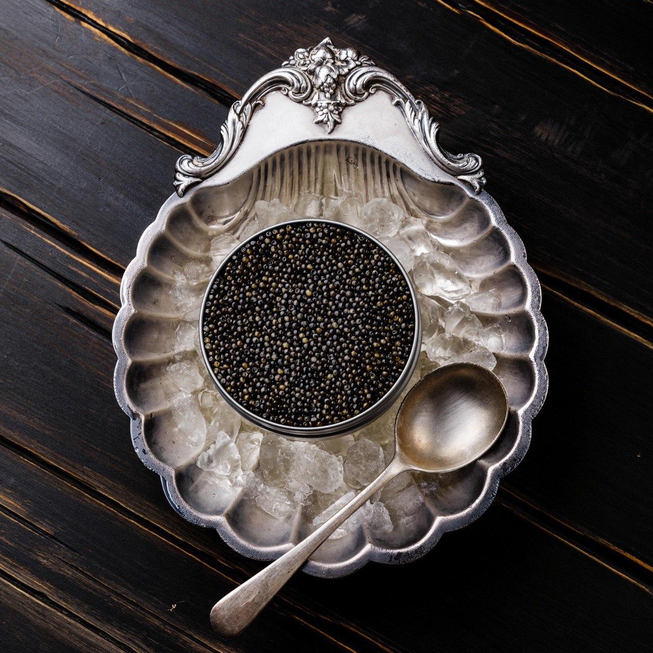 Black caviar DELUXE 100g