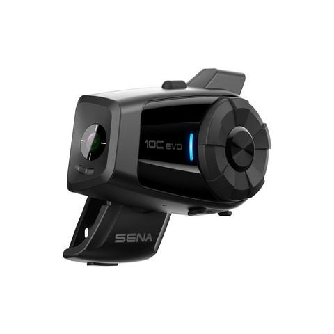 Bluetooth мотогарнитура SENA 10C EVO с Экшн камерой 4K Ultra HD