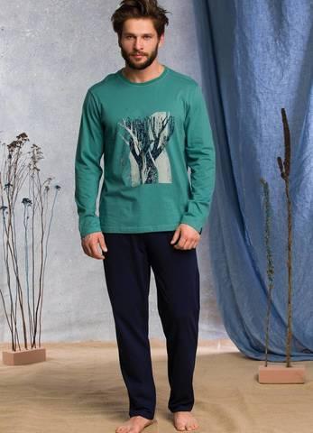 Пижама мужская со штанами KEY MNS 785 20/21
