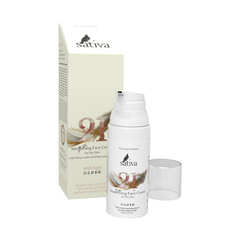 Sativa Крем для лица Разглаживающий №21 для сухого типа кожи