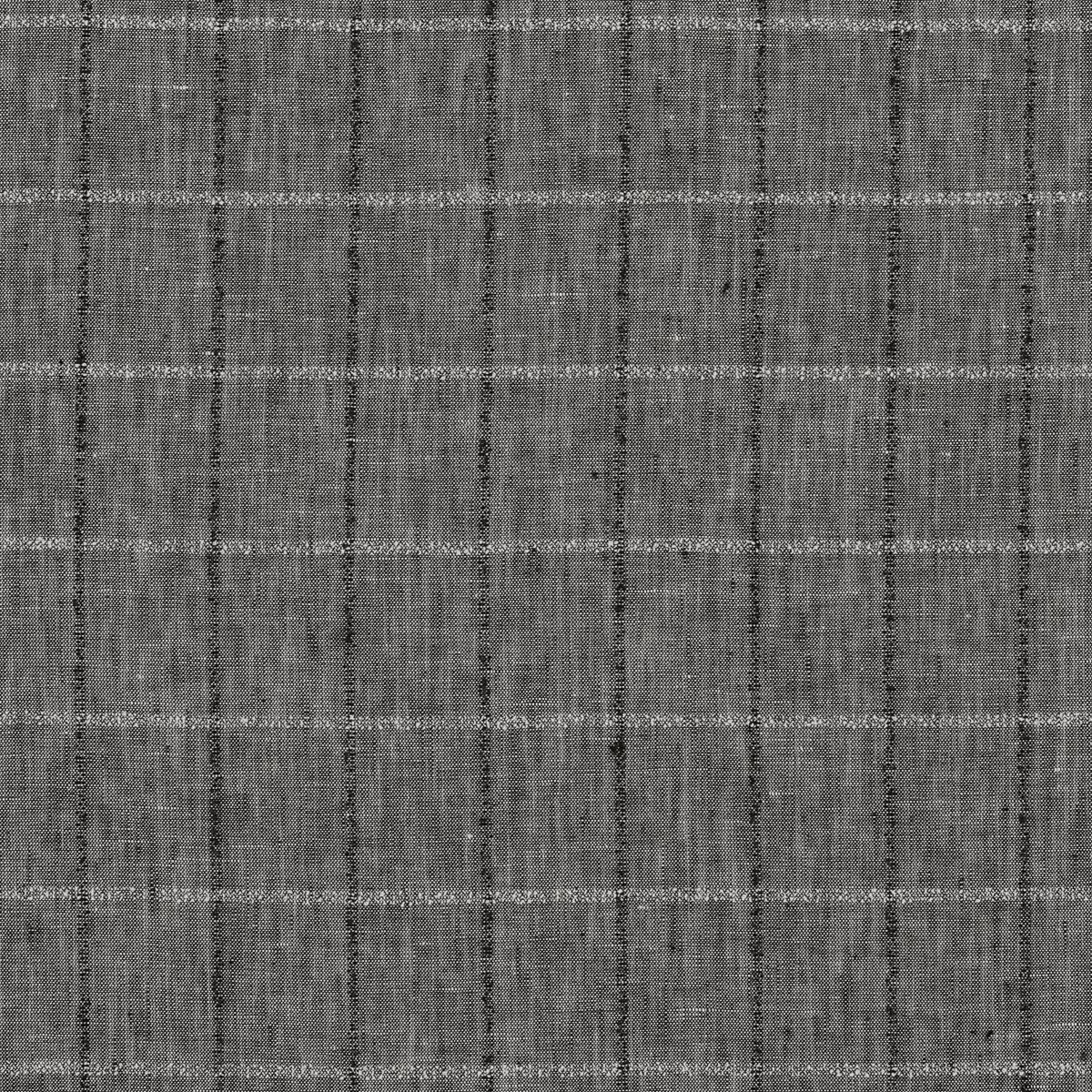 Льняное полотно коричневого оттенка в полоску из фактурных нитей