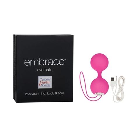 Вагинальные шарики EMBRACE LOVE BALLS PINK 4604-05BXSE