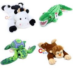 Transforming Pillow - Alligator Monkey Cow Turtle