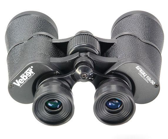 Резиновые окуляры Veber БПШЦ 10х50 и колесо фокусировки