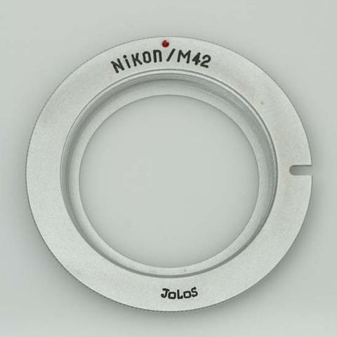 Переходное кольцо M42 для Nikon без линзы, без автофокусировки на бесконечность