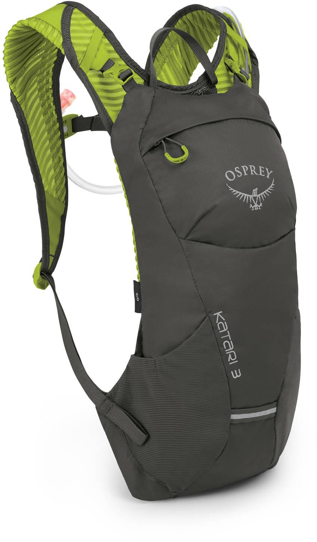 Рюкзаки для бега Рюкзак мультиспортивный Osprey Katari 3 Lime Stone Katari_3_S19_Side_Lime_Stone_web.jpg