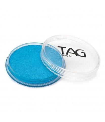 Аквагрим TAG 32гр перламутровый голубой