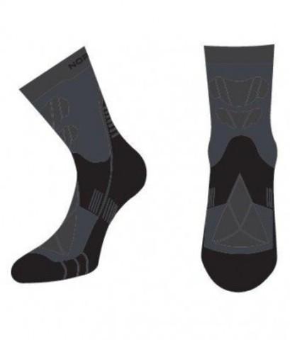 Термоноски с шерстью Nordski Wool black/grey