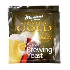 Дрожжи пивные Muntons Premium gold, 6 г