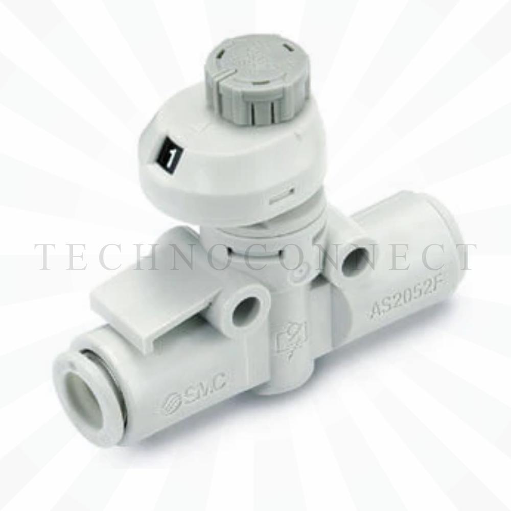 AS1002FS-04   Дроссель с обратным клапаном, б/р 4, с настроечной шкалой