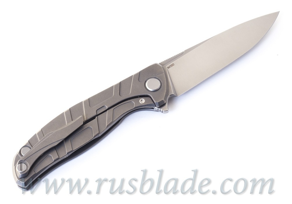 Shirogorov Flipper 95 M390 T-mode MRBS - фотография