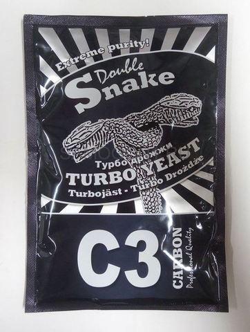 Дрожжи спиртовые DoubleSnake C3 Carbon