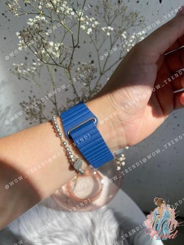 Ремешок Apple watch 38mm Leather Loop /midnight blue/