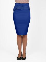 7095 юбка синяя