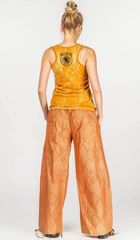 Женские оранжевые штаны Гидрия