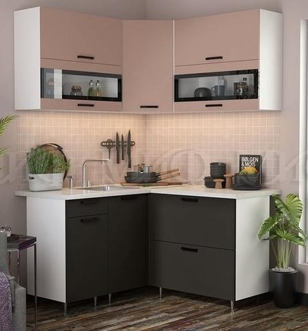 Кухня Угловая Техно NEW 1,4-1,4 м №2