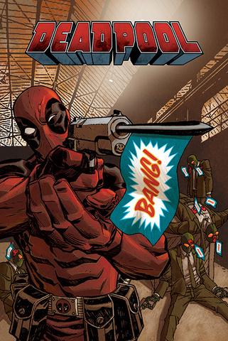 Постер Maxi Deadpool (Bang)