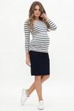 Юбка для беременных 06646 синий