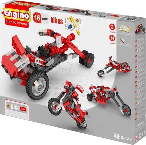Engino Мотоциклы - 16 моделей, серия Пико
