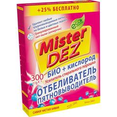 Отбеливатель пятновыв MisterDezEco-Cleaning БИО+кислор усил/ стир пор 300 г