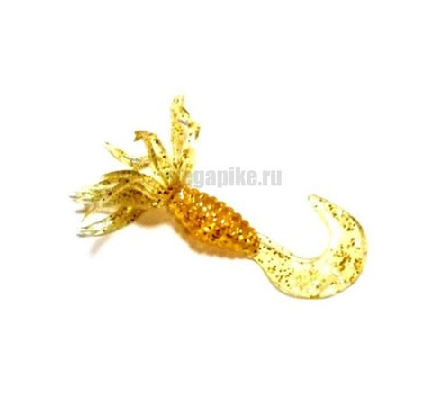 Приманка силиконовая Gene Larew Bobby Garland 1,5'' Crappie Spider (упак. 10 шт.) / цвет Electric Gold