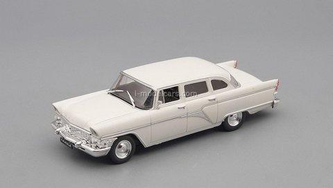 GAZ-13 Seagull 1959-1981 white 1:43 DeAgostini Auto Legends USSR #268