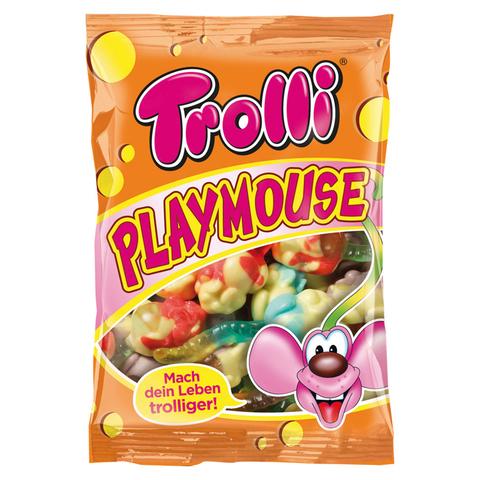 Жевательный мармелад Trolli Playmouse - мыши с фруктовым вкусом, 200 г