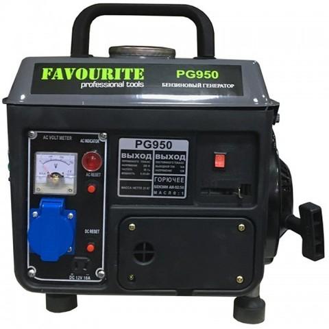 Бензиновый генератор Favourite PG 950