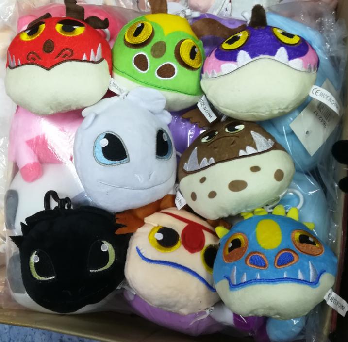 Набор из 8 мягких игрушек