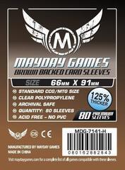 Протекторы Mayday: 66*91мм (Brown Backed) (80)