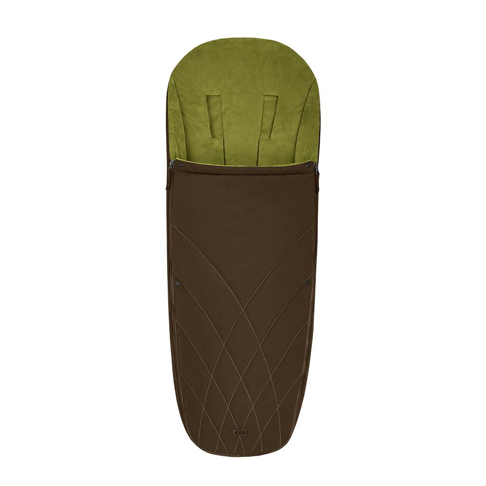 Теплые конверты для коляски Cybex Теплый конверт в коляску Cybex Priam Footmuff Khaki Green 10342_1_94-Platinum-Footmuff-Design-Khaki-Green.jpg